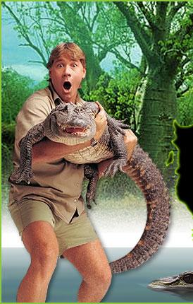 crocodile hunter steve irwin hide