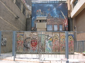 The Berlin Wall Symbolized the battle between good and evil