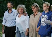 Family of Jack Hensley who was beheaded following Armstrong