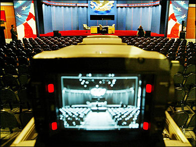 Live webcast is offered of the the Vice Presidential debate
