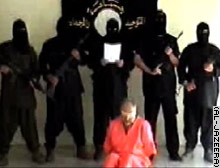 Eugene Armstrong before his beheading by Abu Musab al-Zarqawi's group