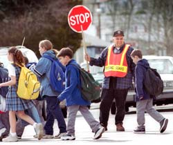 The unarmed School Crossing Guard is the real unsung hero of the TerrorWatch Group