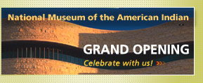 The new Smithsonian Institution's National Museum of the American Indian opened last month in Washington, D.C.